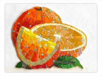 L'orange made by Francoise Moulet