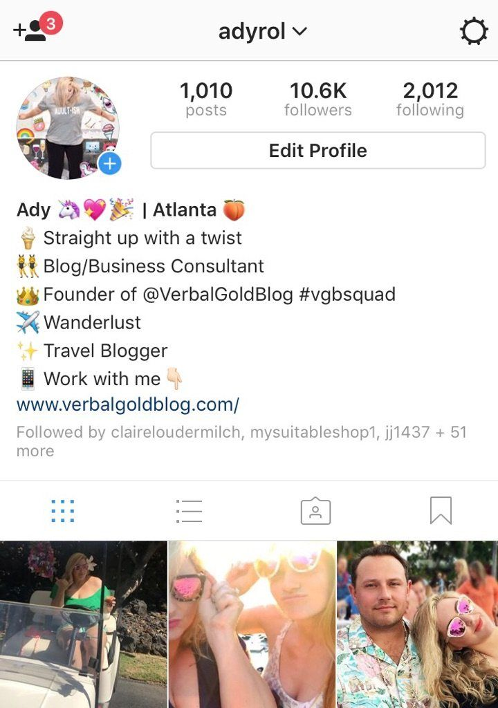 How To Adjust And Space Out Your Instagram Bio What You Should Actually Put There Verbal Gold Blog Instagram Bio Photo Social Media Bio
