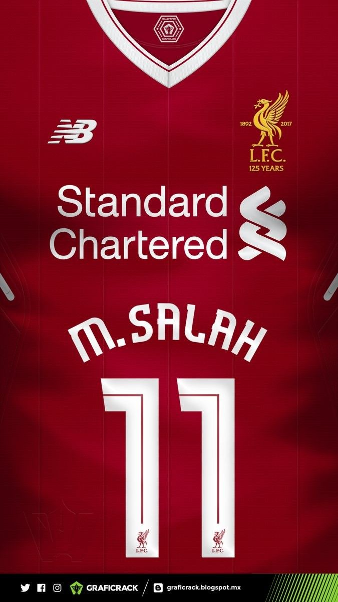 aa0f646146 Мухамед Салах | Liverpool | Uniformes futebol, Camisas de futebol e Futebol