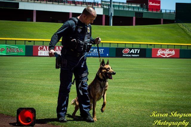 Phoenix Police Department S K9 Team At The 2018 Desert Dog K9