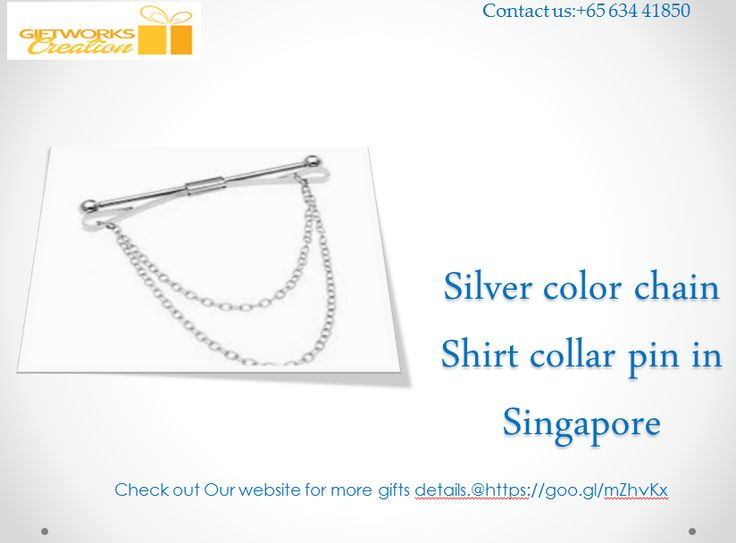 We provide silver chain style shirt collar pins in  Singapore.Buy online here the best collection at a lower price.we offer wholesale price.@Visit here for more pins details.https://goo.gl/mZhvKx