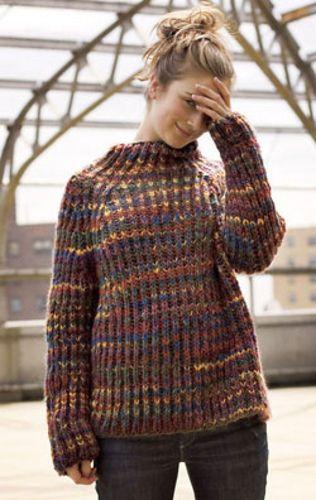 Bulky Brioche Raglan Pattern By Ann Budd Knitting