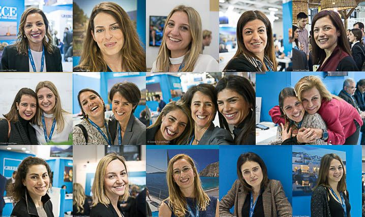 Greek Girl Power @ ITB Berlin on Int'l Women's Day.
