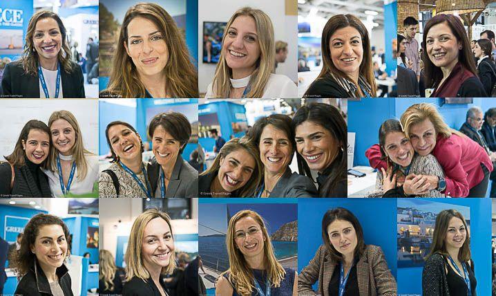 Greek Girl Power @ ITB Berlin on Int'l Women's Day.