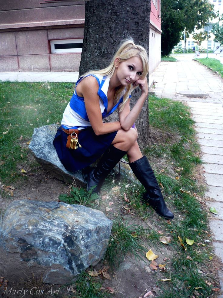 Lucy Hertfilia (Fairy Tail) - Marty Lucy Heartfilia Cosplay Photo - Cure WorldCosplay