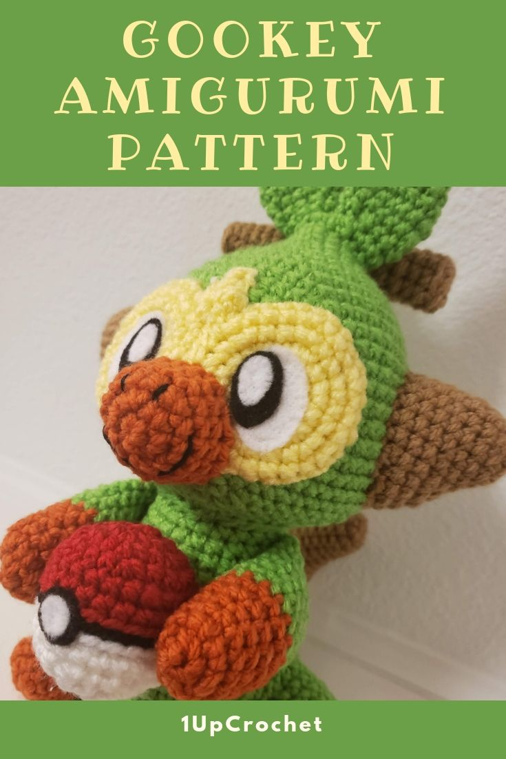 Free Eevee Pokémon Amigurumi Pattern | Pokemon crochet pattern ... | 1102x735