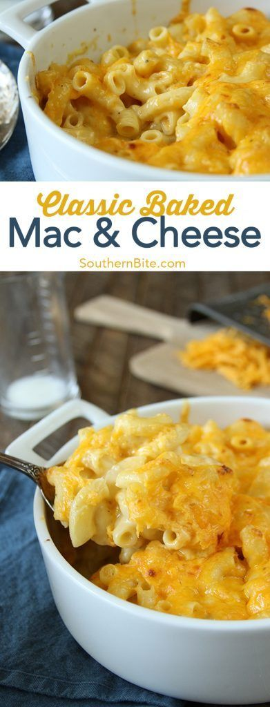 This gooey, cheesy Classic Baked Macaroni and Cheese is a family favorite side that will shine on your supper table!