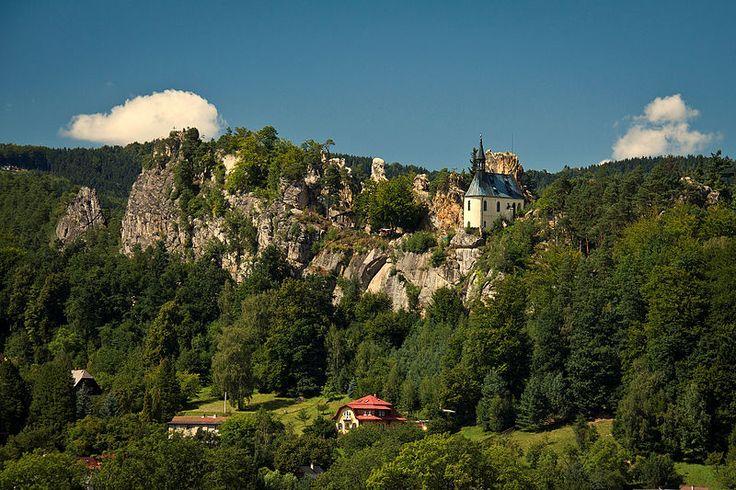 Hrad Vranov - Malá Skála