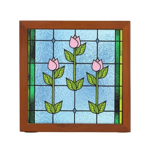 17 best images about fake glass windows on pinterest - Glass desk organizer ...