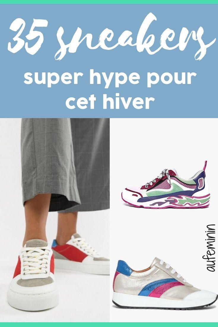 9894a512681f2 Les sneakers tendance de l automne 2018   Chaussures   It-shoes   Mode    Pinterest   Sneakers et Basket
