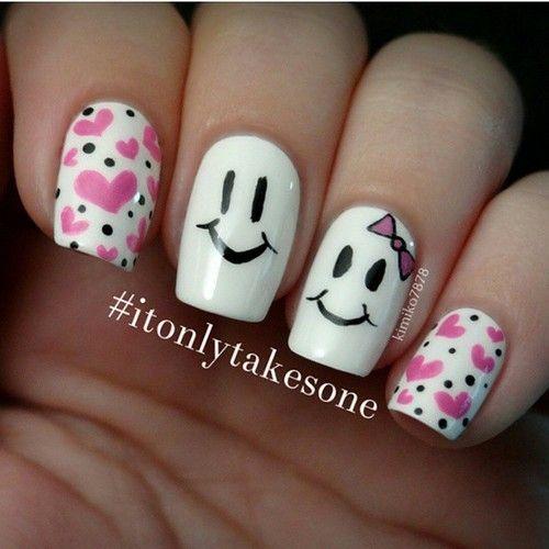 به این جمعه ی زیبا لبخند بزن☺ #itonlytakesone By: @kimiko7878 #persiannailart . دوووستاتوو تگ کن زووود #moda, #fashion, #nails, #like, #uñas, #trend, #style, #nice, #chic, #girls, #nailart, #inspiration, #art, #pretty, #cute, uñas decoradas, estilos de uñas, uñas de gel, uñas postizas, #gelish, #barniz, esmalte para uñas, modelos de uñas, uñas decoradas, decoracion de uñas, uñas pintadas, barniz para uñas, manicure, #glitter, gel nails, fashion nails, beautiful nails, #stylish, nail styles