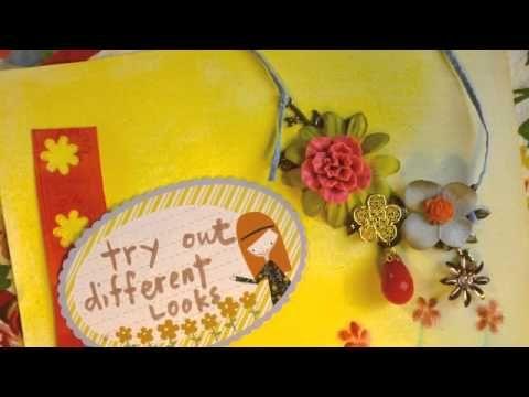Ruby Violet Necklace Kits Step by Step #rubyviolet #makeart @Lilla Rogers