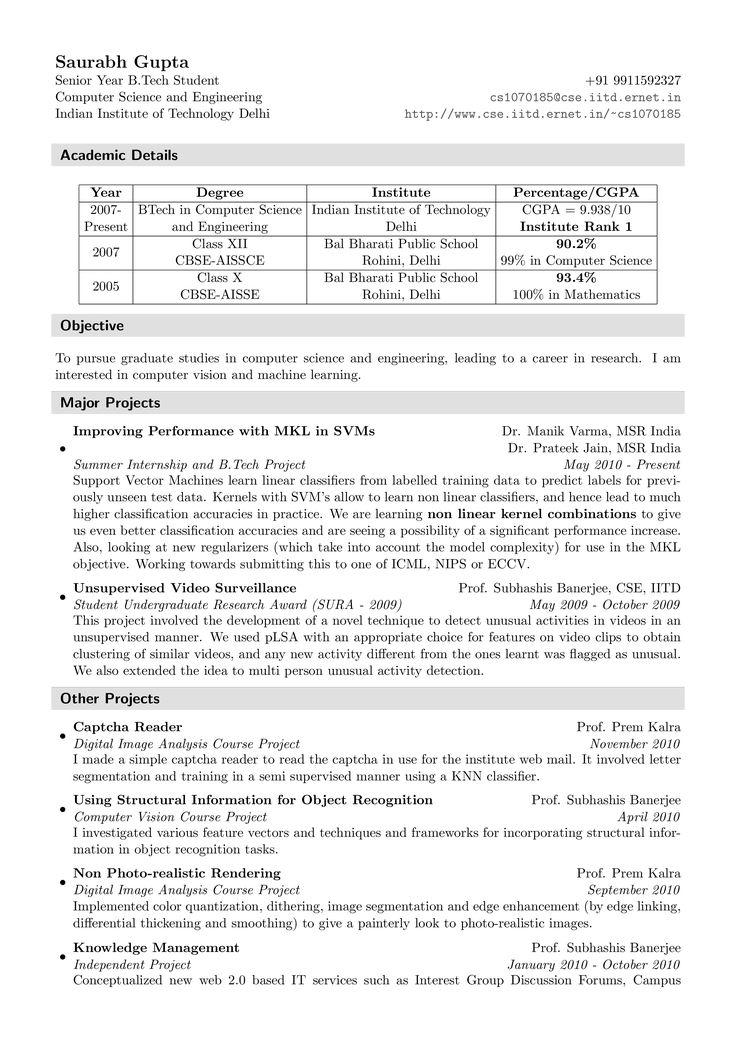 Fresher Resume Sample How to draft a Fresher Resume
