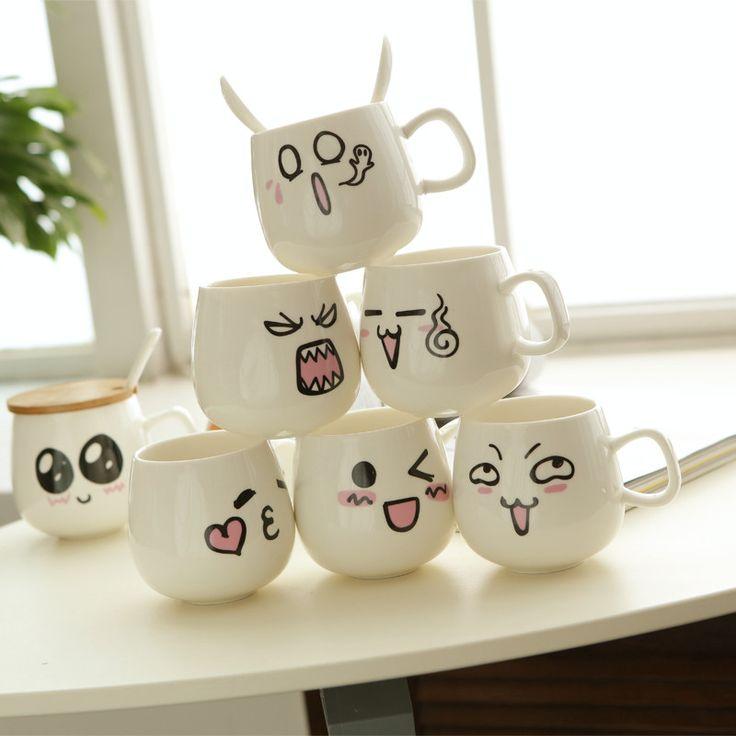 les 19 meilleures images du tableau mugs sur pinterest tasses caf tasses et id es cadeaux. Black Bedroom Furniture Sets. Home Design Ideas
