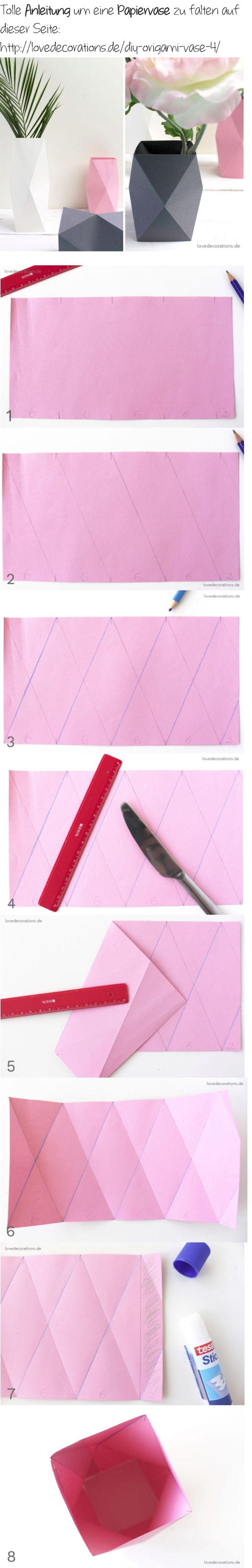 Best 25 paper vase ideas on pinterest origami night light snug diy origami vase 4 und meine besondere beziehung zu meiner babyborn nicht floridaeventfo Images