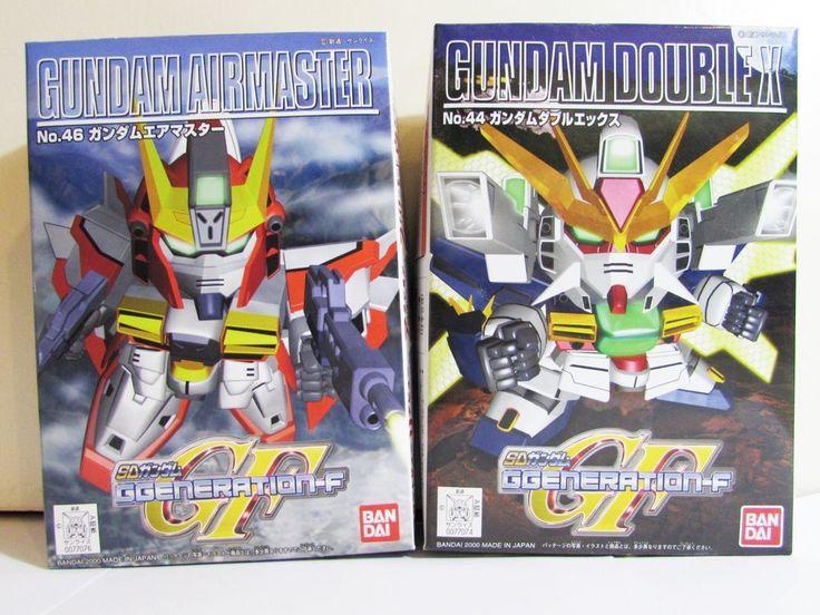 044 SD Gundam DoubleX AND 046 SD Gundam Airmaster Bandai  lot of 2 model kits