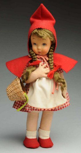 Lot: Lenci Doll., Lot Number: 0723, Starting Bid: $75, Auctioneer: Dan Morphy Auctions, Auction: Toy, Doll & Figural Cast Iron Sale Day 2 , Date: March 5th, 2016 EST