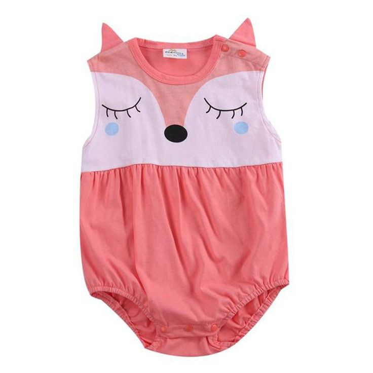 Baby Cute Fox Bodysuit