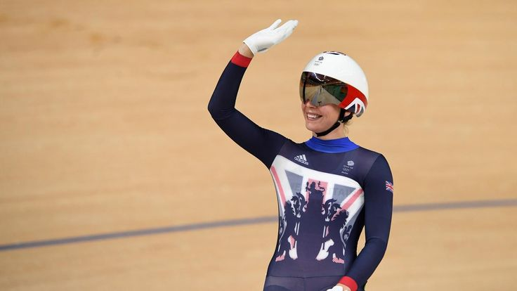 British cycling duo Becky James and Katy Marchant reach sprint semi-final