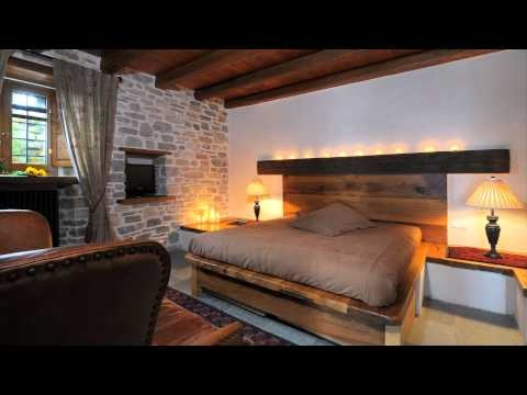 Old stone traditional Mansion transformed to Hotel - YouTube