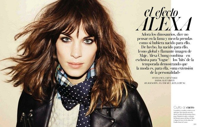 "Nicolas Jurnjack styles hair in ""El efecto Alexa"" Vogue Spain, Aug. 2012  Follow the latest Nicolas Jurnjack styles on Facebook, Twitter as well as his blog!"