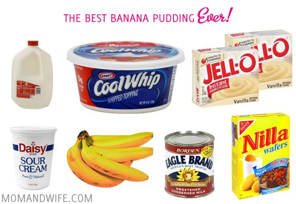 17 Best Images About Banana Pudding Ever On Pinterest
