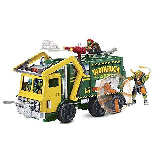 Teenage Mutant Ninja Turtles Movie 2 Tactical Truck And Leonardo Figure