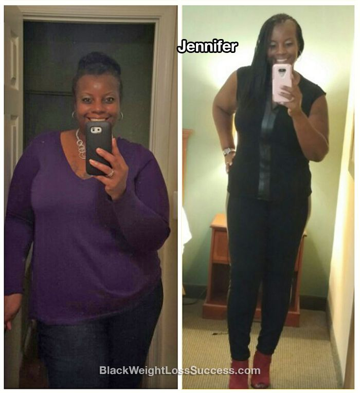 Fabulous at Forty. Jennifer lost 60 pounds. She was dealing with depression, low self-esteem, pre-diabetes and high blood pressure. Diets hadn't brought her lasting results in the past. This year, she found the will to stick with it and figure out what works for her.