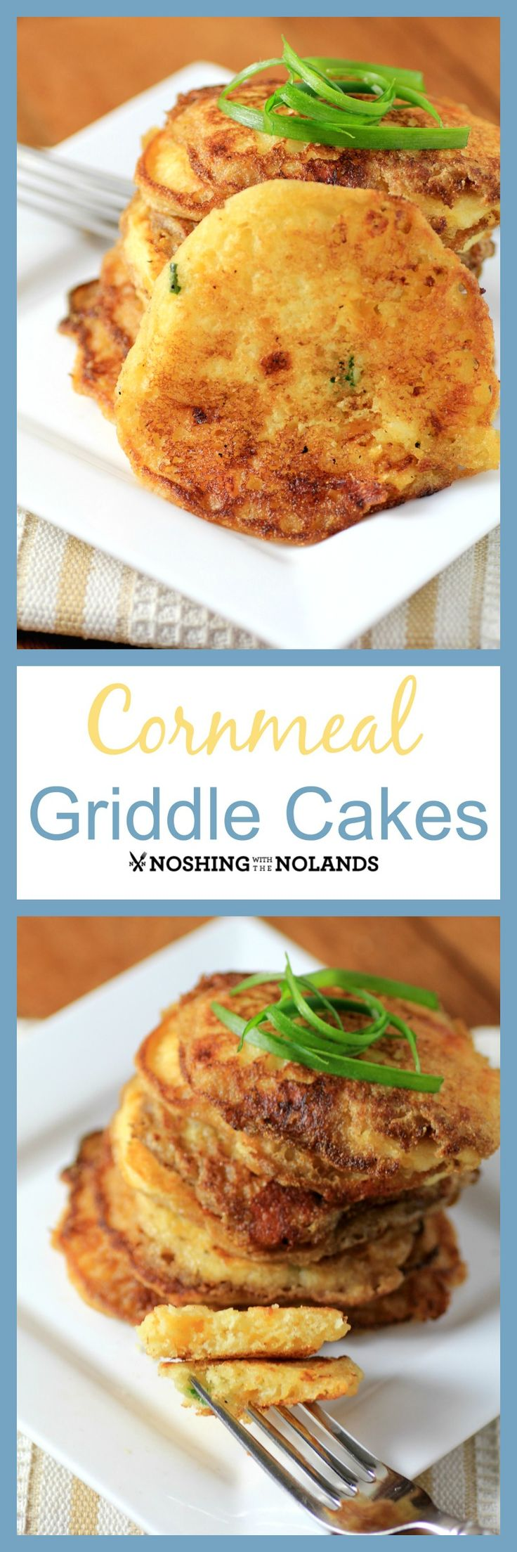 We are with #BreadBakers today with our Cornmeal Griddle Cakes. These ...