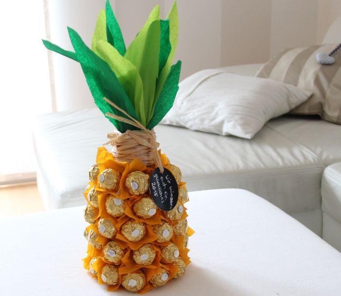 25 parasta ideaa pinterestiss rocher ananas for Geschenk fa r erzieherin