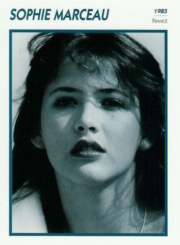 Sophie Marceau / 1985 / FICHE L'Encyclopédie du cinéma, Portraits de stars
