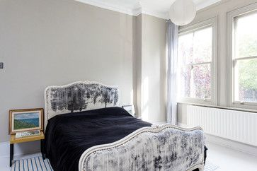 Croxted Road - Dulwich - transitional - Bedroom - London - Chris Snook