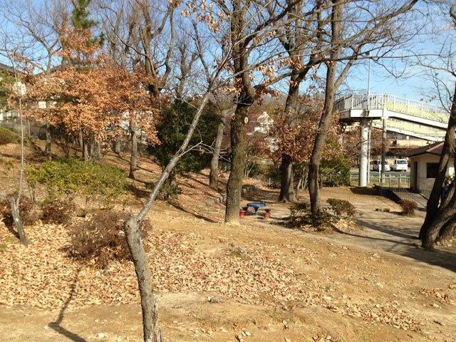 石平公園。避難場所。高低差のある広場になっています。豊田市立青木小学校区安全マップによると不審者情報あり。駅に隣接しているわりにはひっそりとしていますので、暗くなってからは注意が必要かもしれません。