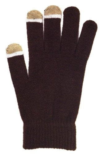 The perfect glove for for your cold weather social networking. Makes a great gift. Available in three colors - one size fits most.