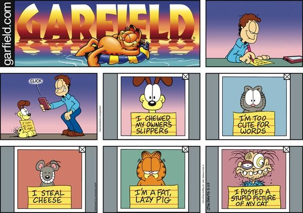 Garfield for 5/25/2014 | Garfield | Comics | ArcaMax Publishing