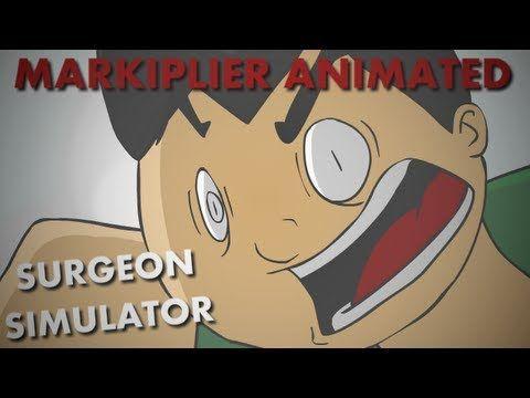 Markiplier Animated | Surgeon Simulator - YouTube