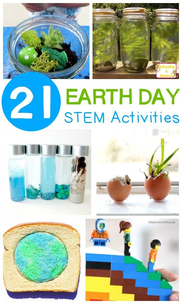 Learn how you can make a difference in the planet with science, technology, engineering, and math activities with these STEM activities for Earth Day!