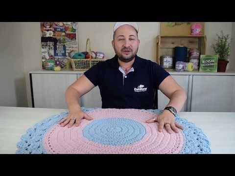 Crochetando com EuroRoma e Marcelo Nunes - Tapete Algodão Doce - YouTube