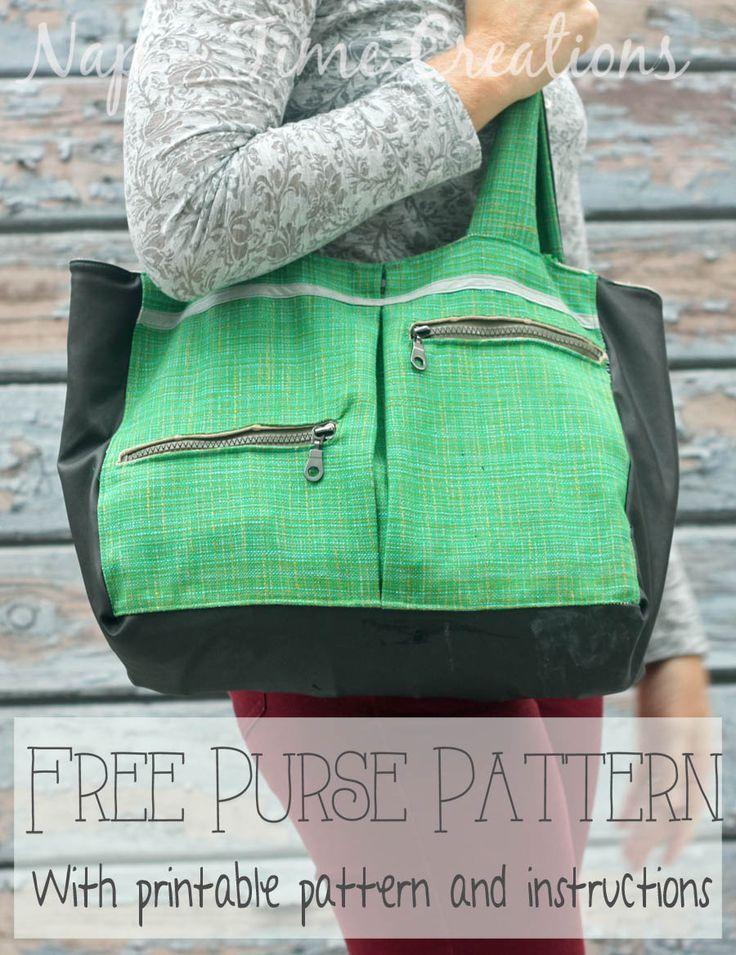 54 best Strandtasche images on Pinterest | Satchel handbags, Sewing ...