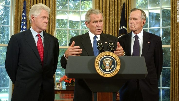 george w bush administration response to hurricane katrina The man leading the country at that point was president george w bush, and his  response to katrina was so badly received that one vanity.
