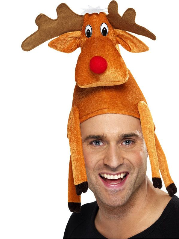 Check out Reinder Hat for Adults | Christmas Costumes & Accessories for the Winter Months from Wholesale Halloween Costumes from Wholesale Halloween Costumes