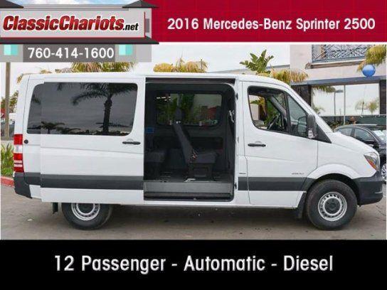 Van, 2016 Mercedes-Benz Sprinter 2500 144 Passenger in Vista, CA (92083)