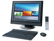 3代目パソコン『SONY VAIO VGC-V172EB』。まだブラウン管テレビとビデオデッキだった生活の中に、HDD保存録画できるテレパソが登場したのは驚きでした。