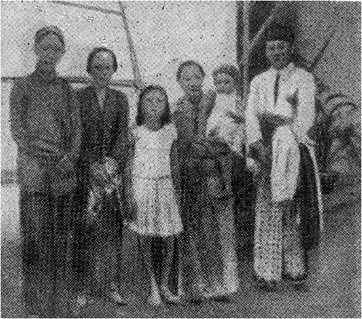 The family of Ki Hajar Dewantara in Yogyakarta.