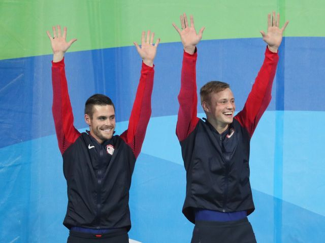 David Boudia, Steele Johnson win silver in synchronized diving