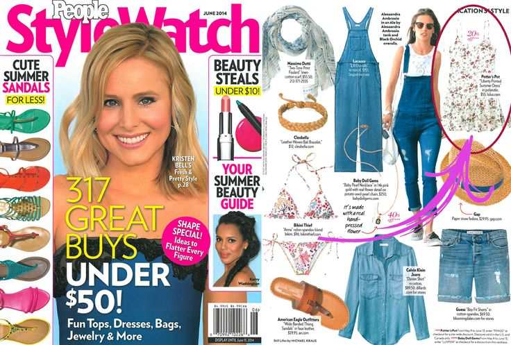 D50356 featured in June issue of People Style Watch!