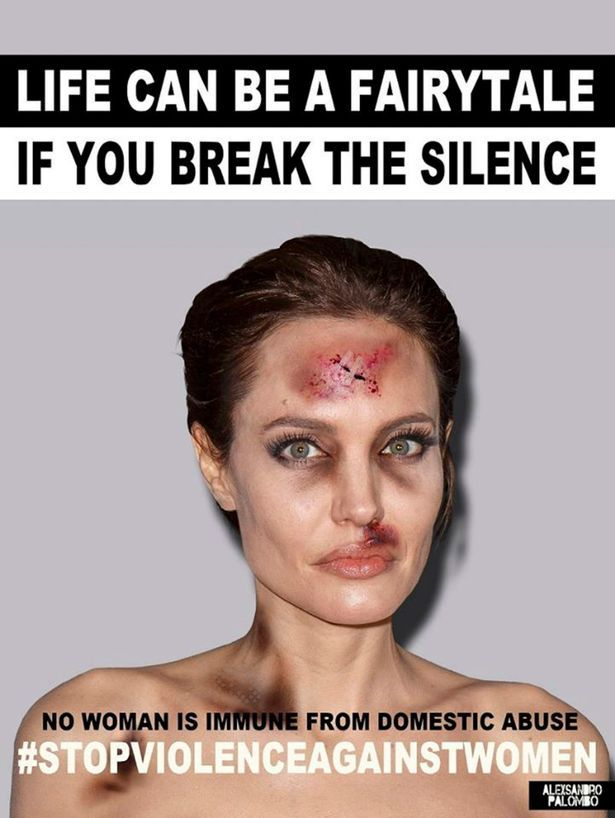 famous selfie campaign violence against women - Google Search