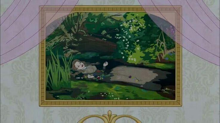 BoJack Horseman Sarah Lynn Ophelia's Death art Shakespeare