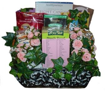 Breast Cancer Get Well Gift Basket