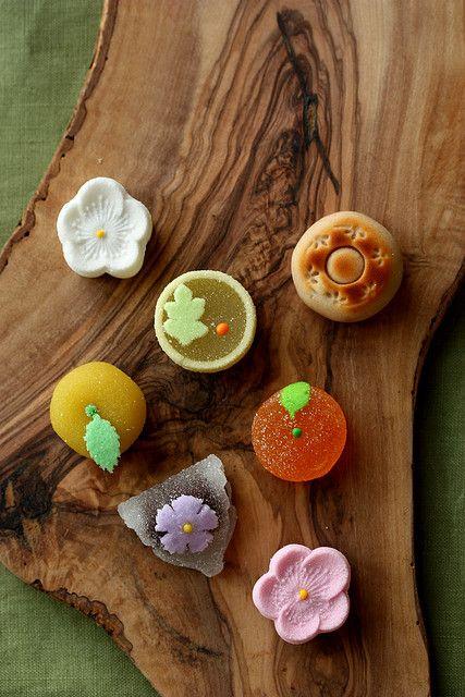 wagashi ( Japanese sweets )